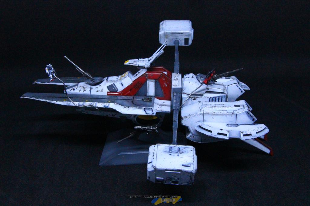 Custom Build: EX Model 1/1700 Mobile Ship Argama - Gundam ...