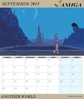 Sunteam: Calendario Commodore Amiga 2015