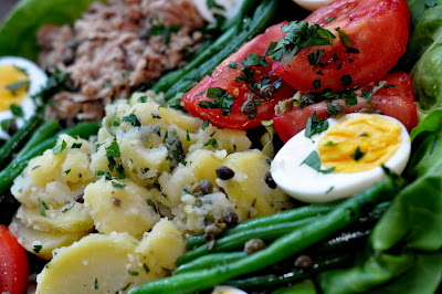 The JC100: Julia Child's Niçoise Salad - Photo by Michelle Judd of Taste As You Go
