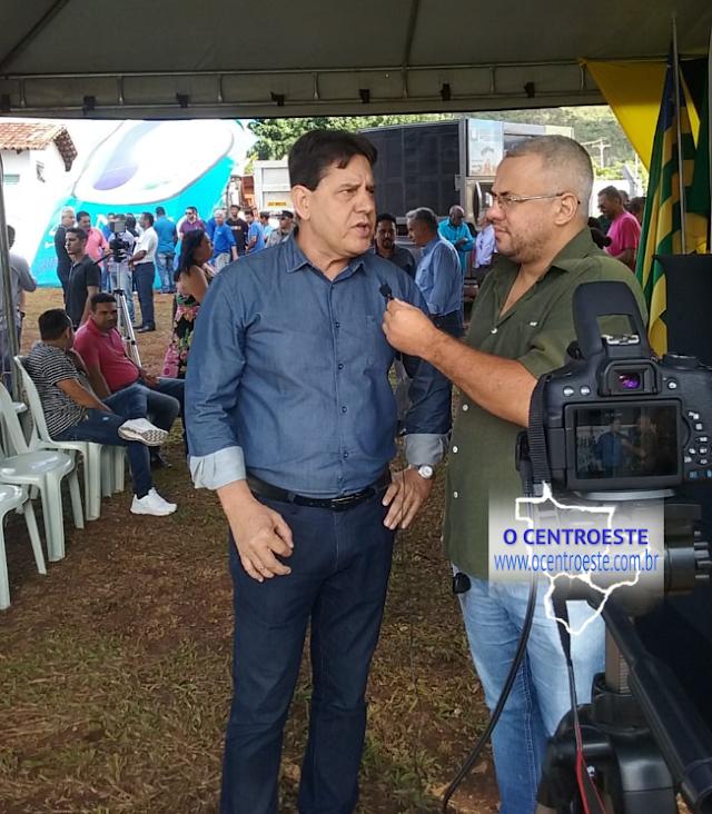 Presidente da SANESC fala das Obras do Esgoto Sanitário de Senador Canedo