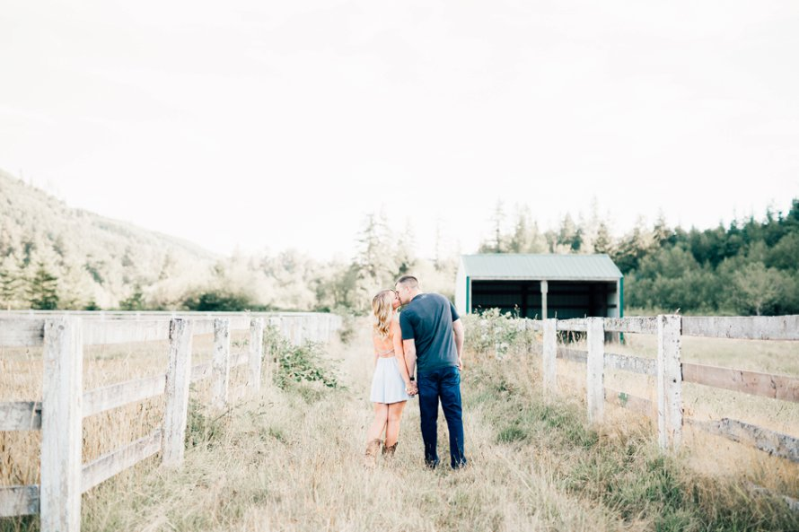 Rein Fire Ranch Engagement Session | Wedding Photographer | Something Minted Photography