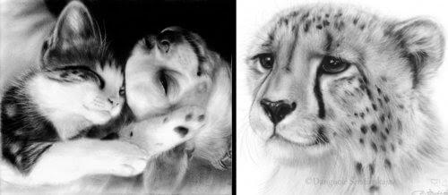 00-Danguole-Serstinskaja-Animal-Dry-Brush-Technique-Paintings-www-designstack-co