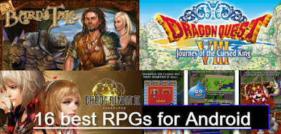 Best Game RPGs for Android 2016