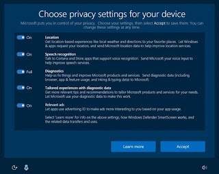 Windows 10 Creators Update to rejig privacy settings in a move unlikely to please anyone