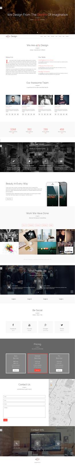 Themeforest responsive theme
