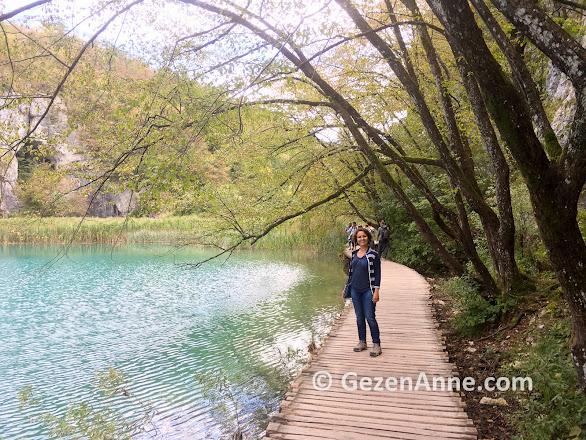 Plitvice gölleri ve milli parkı bir harika, Hırvatistan