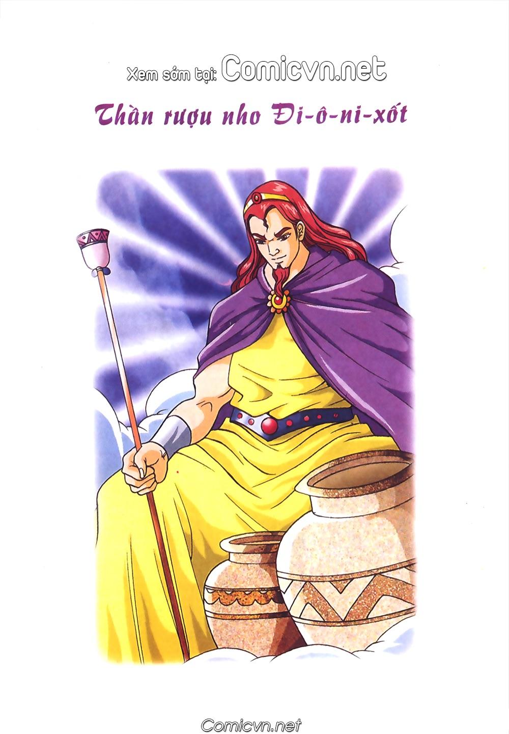 Thần Thoại Hy Lạp Màu - Chapter 40: Chuyện tình buồn của chàng Ô phê - Pic 39