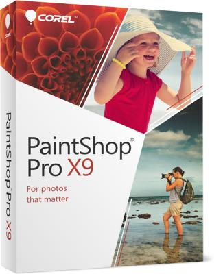 Corel PaintShop Pro X9 + Content Pack