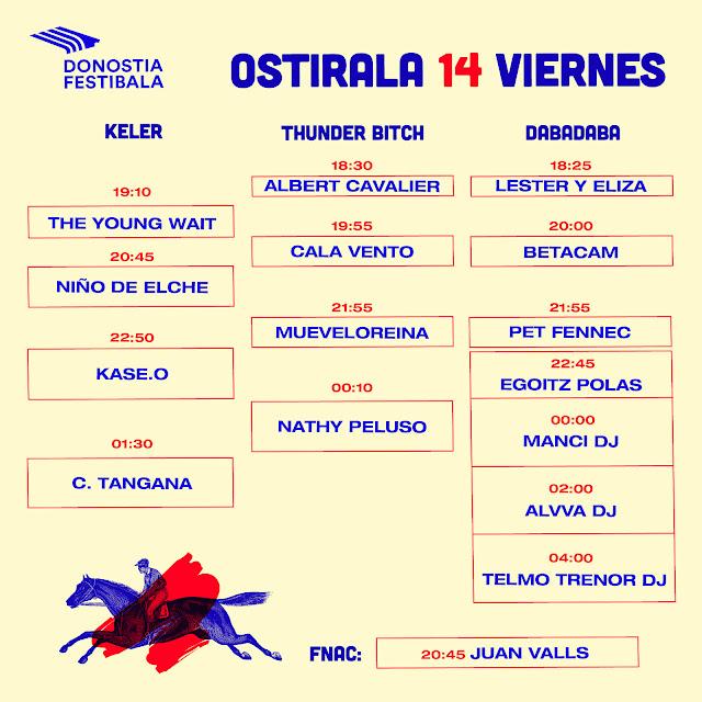 Donostia, festibala, kutxa, kultur, festival, san sebastián, confirmaciones, cartel, horarios, 2018, viernes