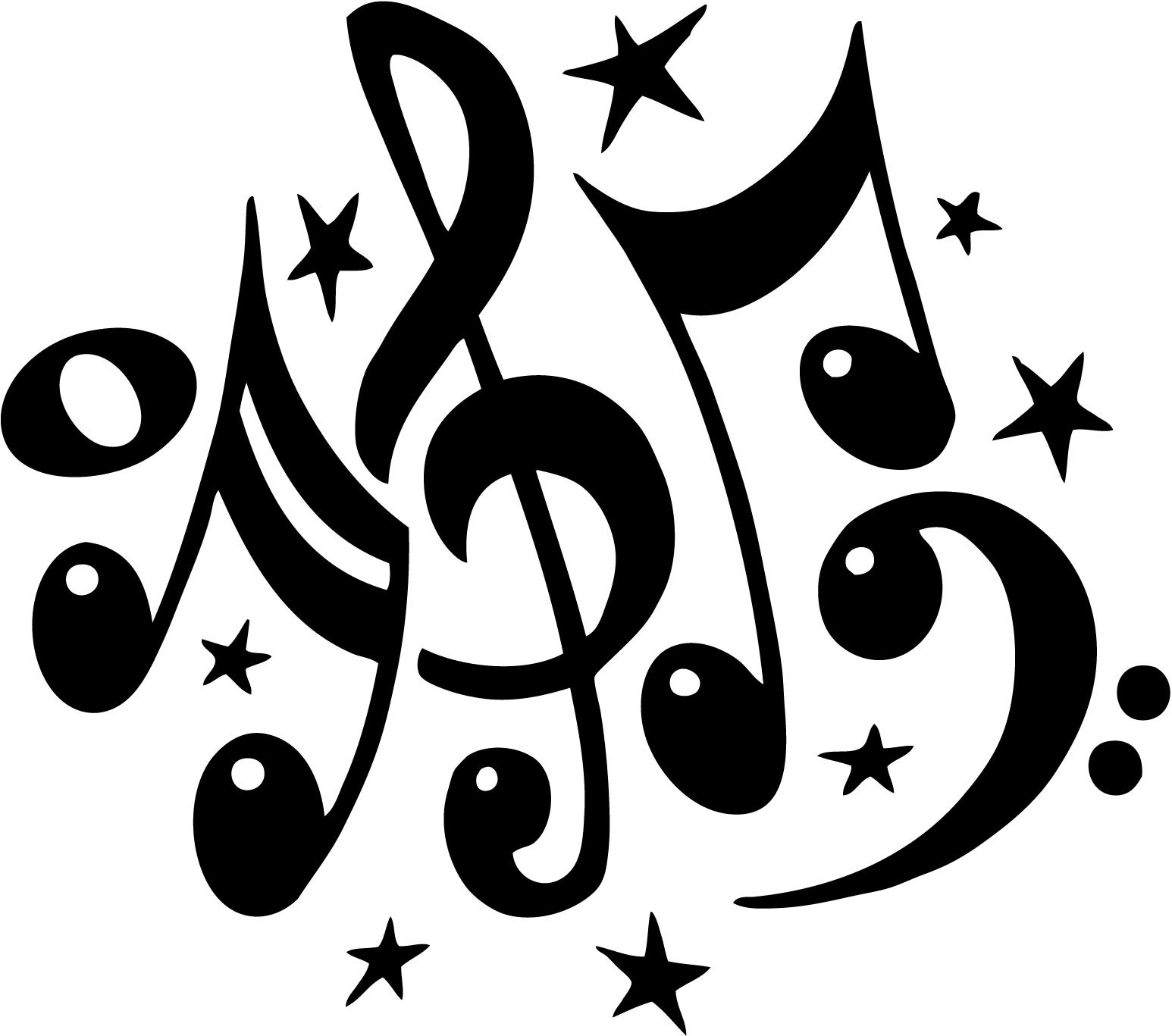 Imagenes Notas Musicales Para Imprimir Imágenes Y Dibujos