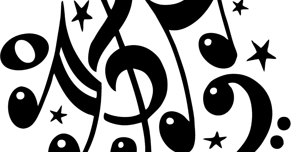Dibujos De Letras Musicales Para Colorear: Imagenes Notas Musicales Para Imprimir