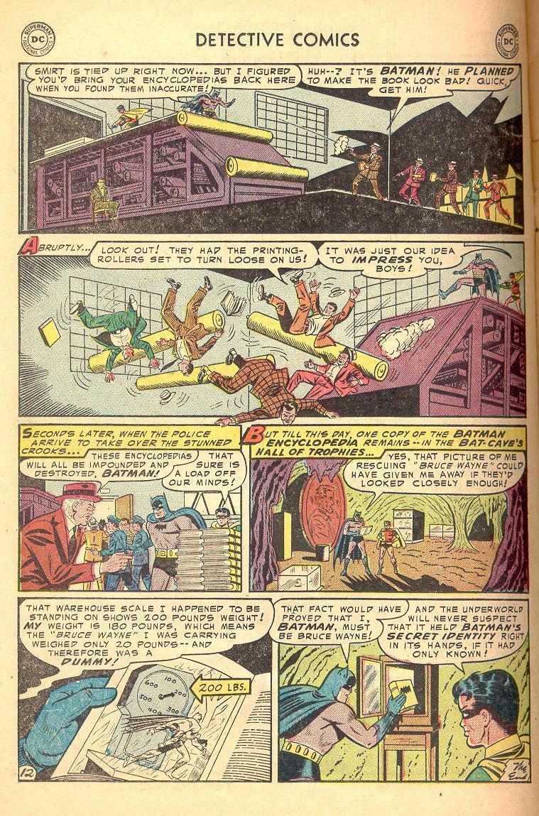 Read online Detective Comics (1937) comic -  Issue #214 - 14