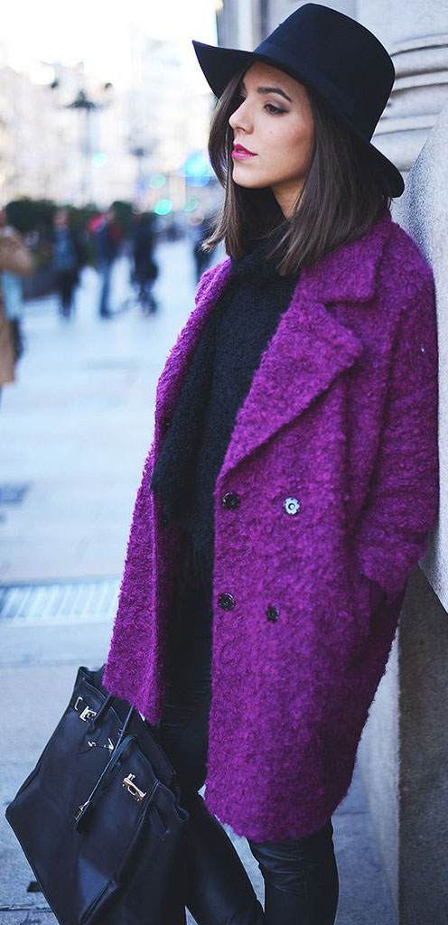 Women Outfit of the Day: Purple #WomenOutfit