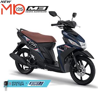 Kredit Motor Yamaha Mio M3 125 Blue Core AKS SSS
