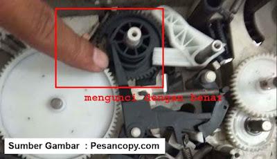 Solusi mesin fotocopy canon IR bersuara kasar pada laci
