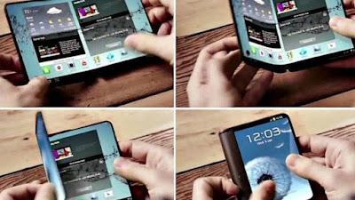 Ponsel Layar Lipat Samsung - Sekitar Dunia Unik