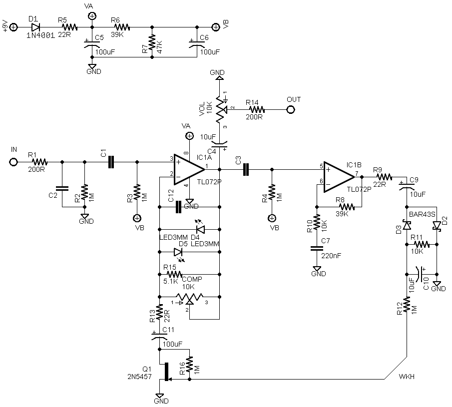 Adding a Compressor circuit to a TS overdrive?