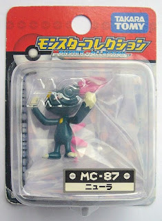 Sneasel Pokemon figure Tomy Monster Collection MC series