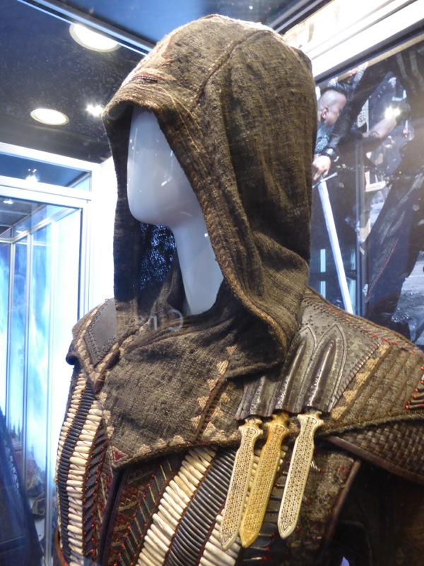 Michael Fassbender Assassins Creed Aguilar costume