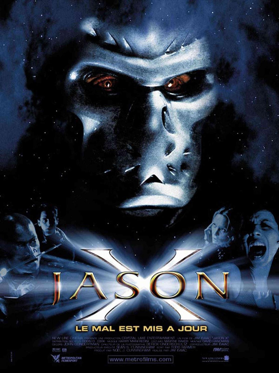 Bloody Pit of Rod: JASON X (2001) Poster Art
