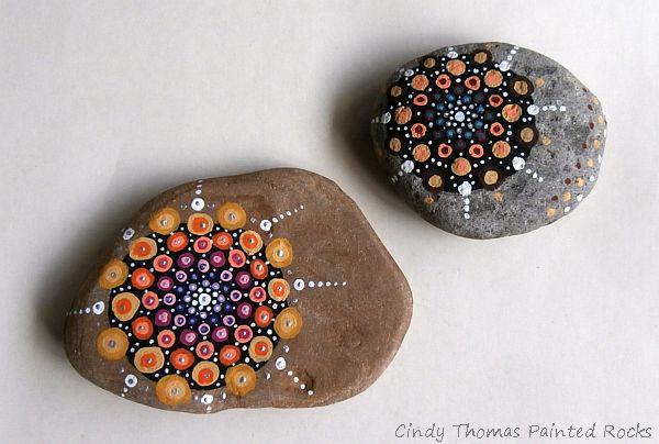 CindyThomas Stone Mandalas