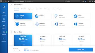 Vultr es la competencia de Digital Ocean, en donde algunos de sus servicios y servidores VPS son más baratos que en Digital Ocean. Pruébalo ya y recibe $50 USD en crédito registrándote con esta liga de referencia: https://www.vultr.com/?ref=8042807-4F