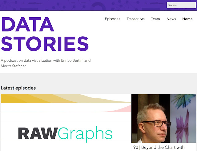 Data Stories site