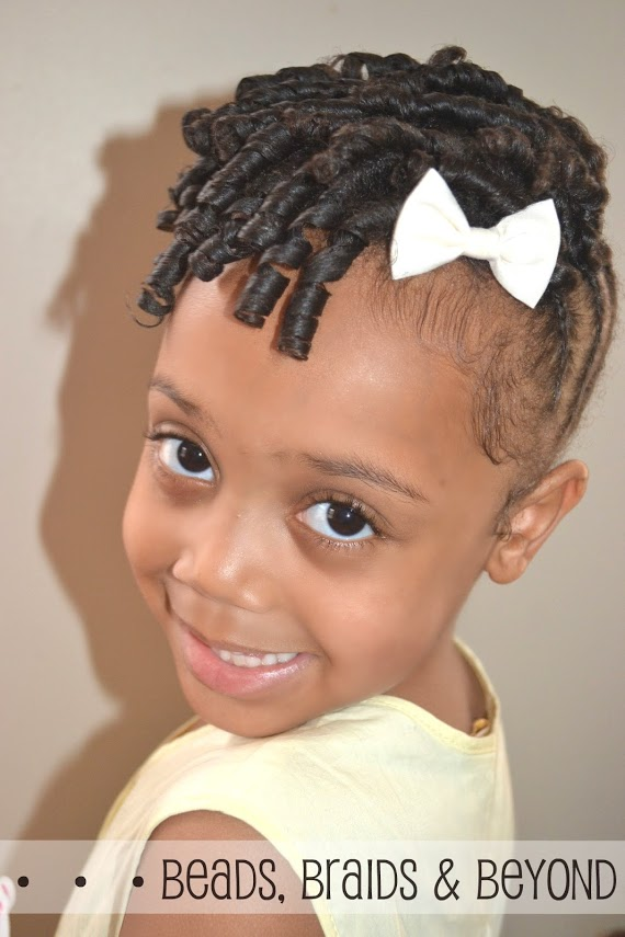 Admirable Back To School Styles For Your Curly Daughter Natural Hair Styles Hairstyles For Men Maxibearus