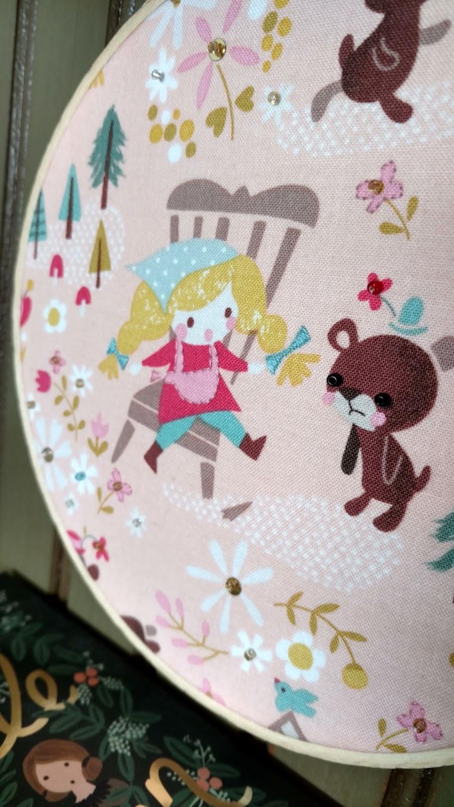 Quilt Taffy Goldilocks And The Three Bears