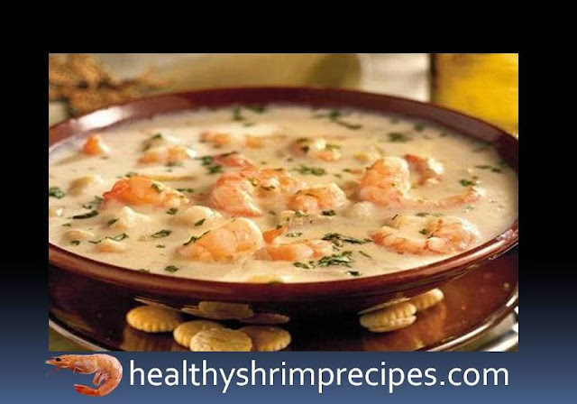 Creamy shrimp soup recipe