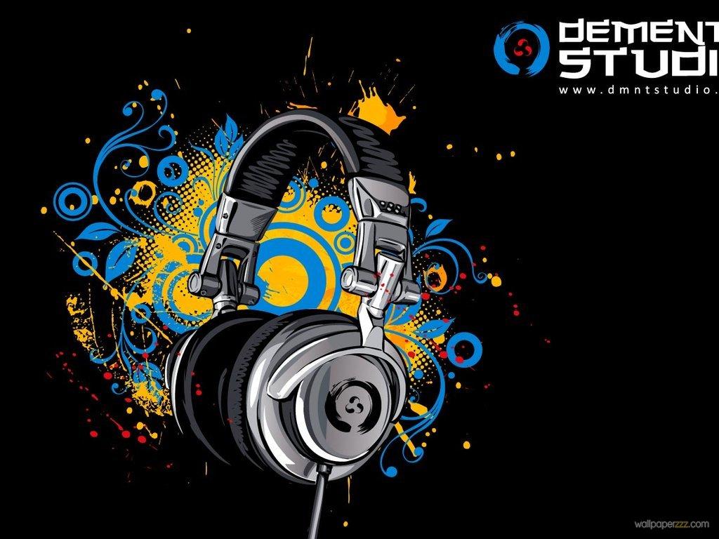 Headphones Music Microphones 4500x4100 Wallpaper: Info Wallpapers: Music Wallpaper