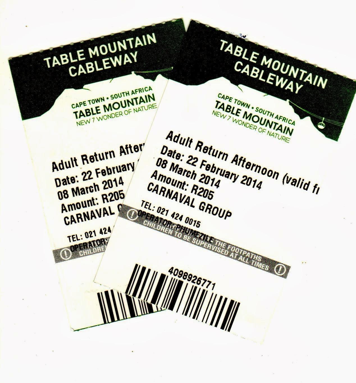 ticket Table Mountain