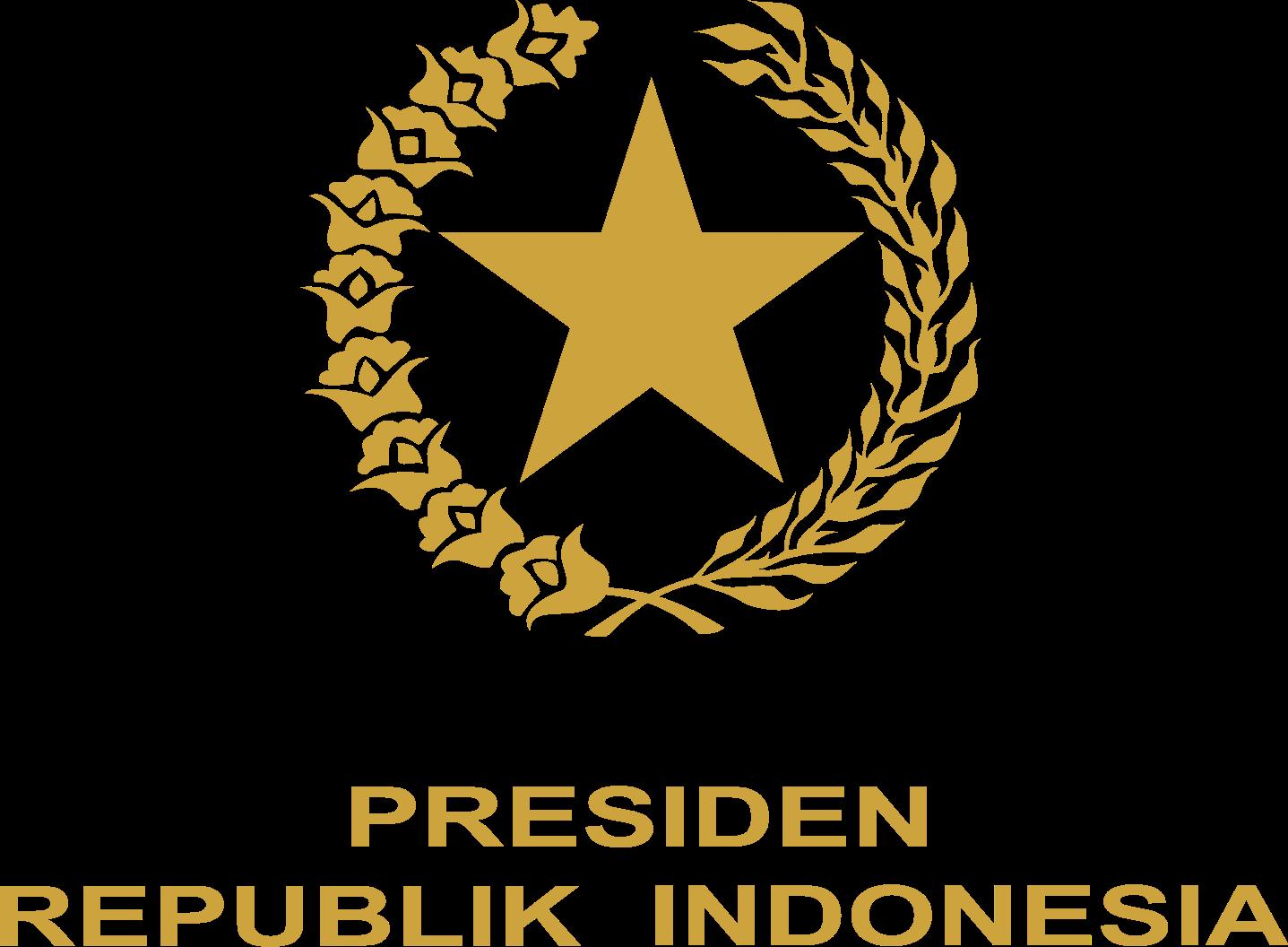 logo resmi presiden republik indonesia ri free format
