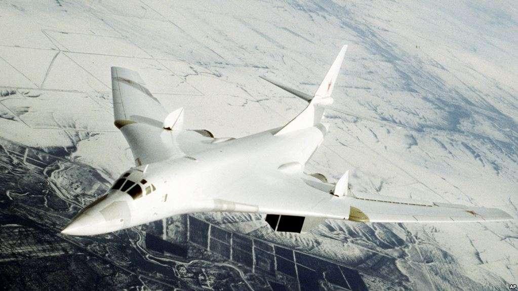 Cazabombardero Tupolev-160 un avión con capacidad nuclear / AP