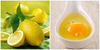 Cách trị nám da bằng trứng gà với chanh