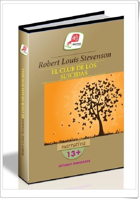"""""""El club de los suicidas"""" de Robert Louis Stevenson (Libro y audiolibro)"""