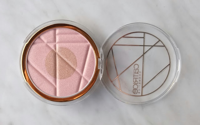 Catrice limited edition Soleil d'ete duo highlighter Gentle sun glow