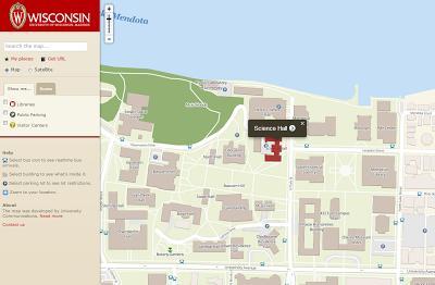 Cartonerd Uw Madison Campus Map