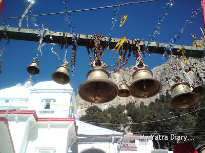 Temple bells at the Gangotri Temple, Garhwal Himalayas