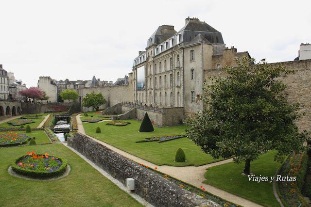 castillo de L´Hermine, Vannes