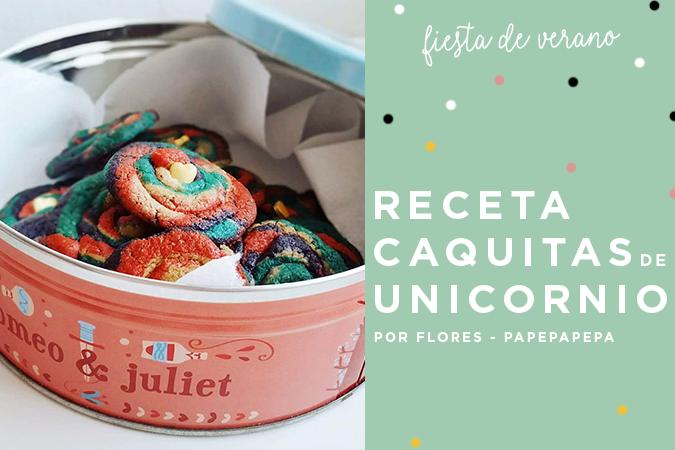 receta cookies unicornio