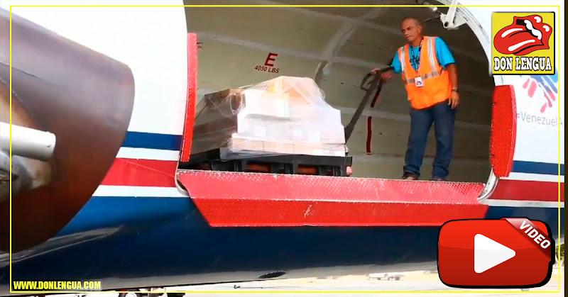 Avión con ayuda humanitaria intentará aterrizar en una pista de Venezuela