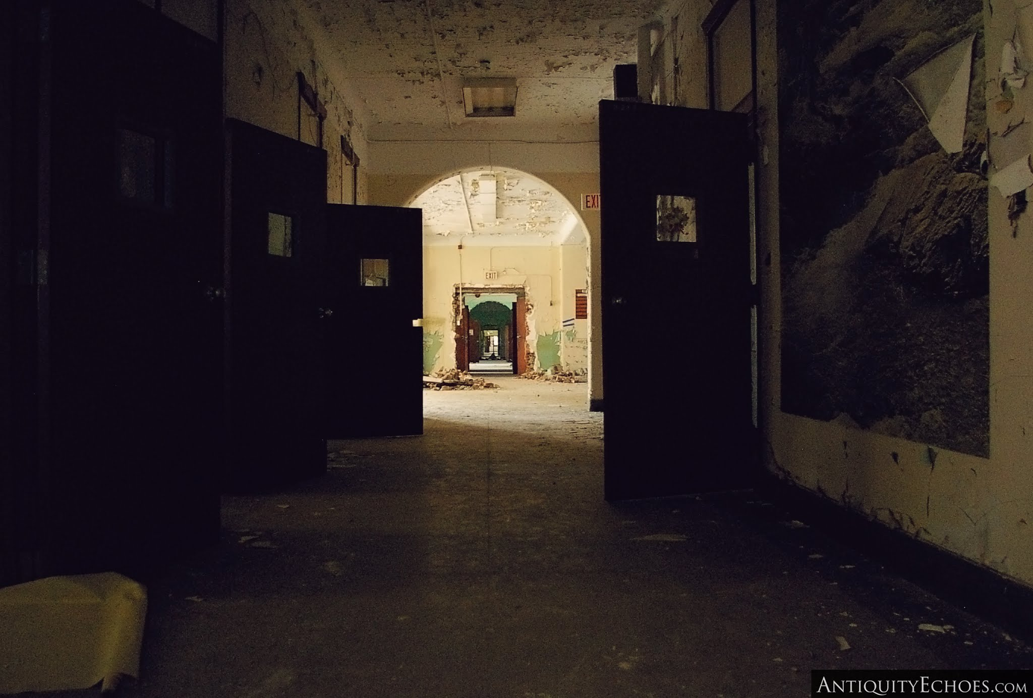 Overbrook Asylum - Hospital Hall