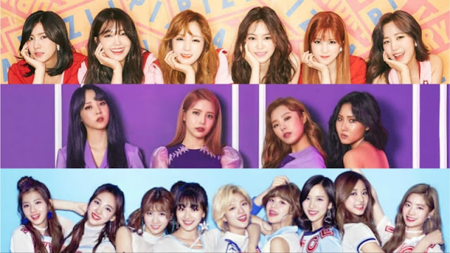Girl Group Brand Reputation Juli 2017