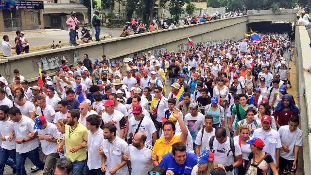 MUD convocó a marchar este miércoles hacia el municipio Libertador