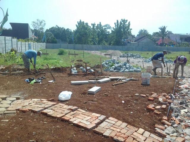 Progres Pembangunan Grand Vilamas Pondok Cabe