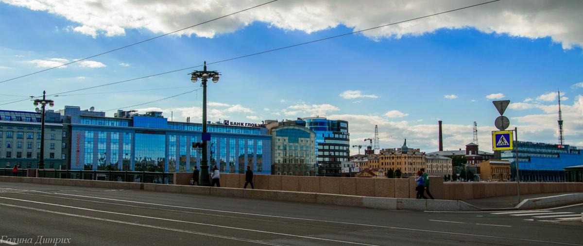Петроградская набережная фото