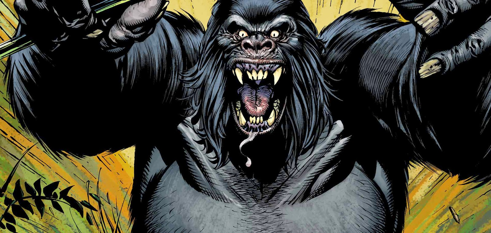 Gorilla Grodd. The Flash