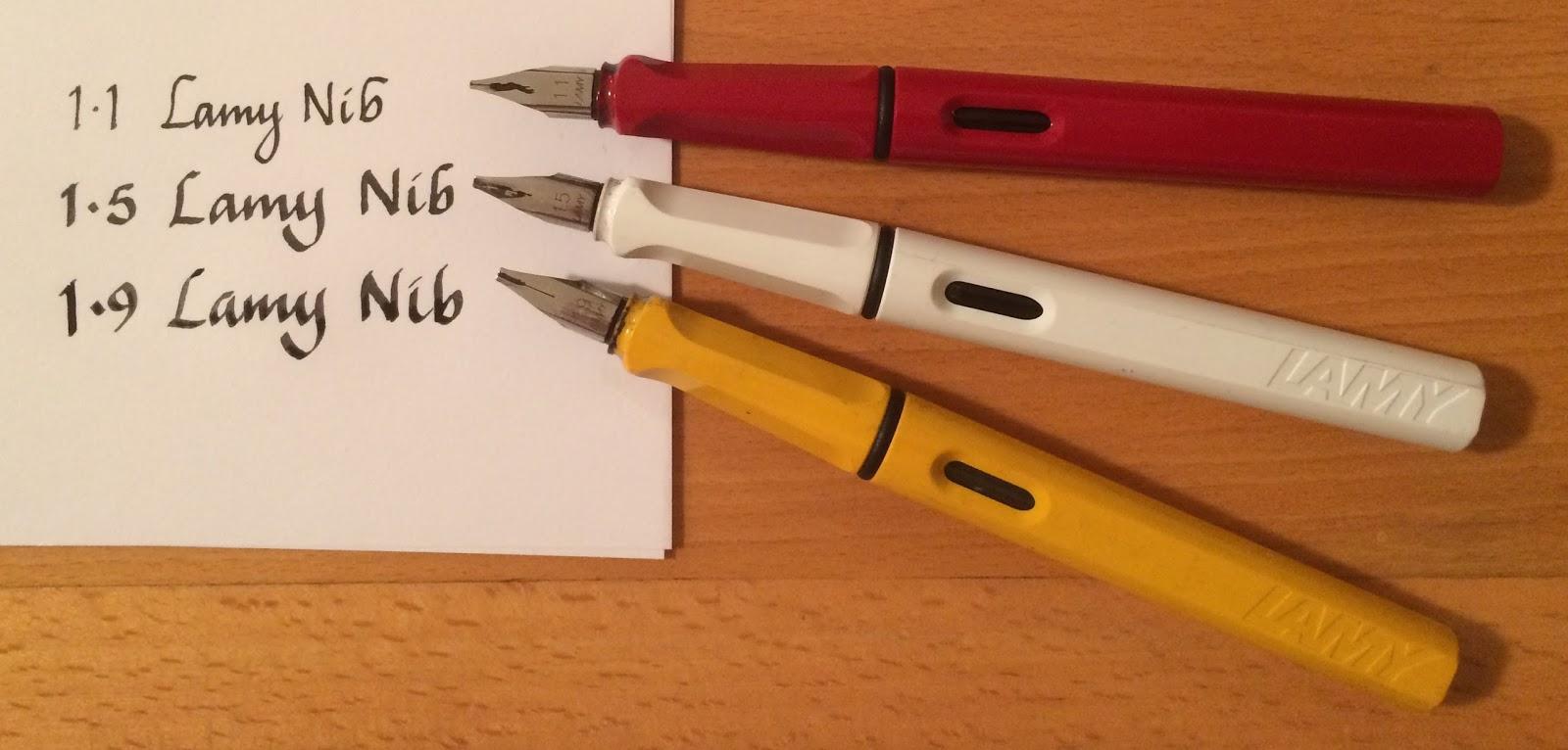 Jane Blundell Artist Lamy Fountain Pens