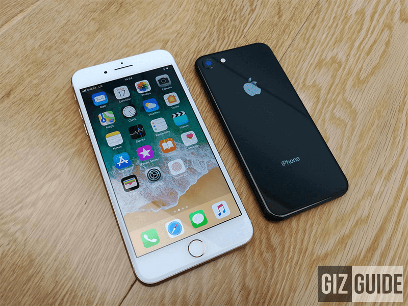 The iPhone 8 and 8 Plus is available with Plan 1999